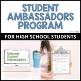 Student Ambassadors Program for High School Students