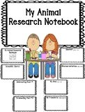 Student Animal Research Notebook / Journal Book