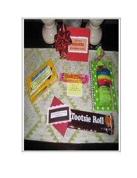 Student Appreciation Labels - Candy 2