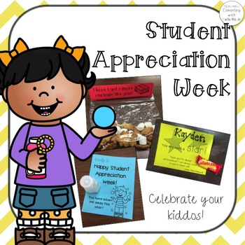 Student Appreciation Week - Celebrate your kiddos!