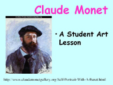 Student Art Lesson Claude Monet (PowerPoint)