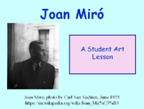 Student Art Lesson Joan Miró (PowerPoint)
