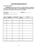 Student Assessment Data Binder