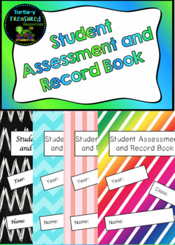 Student Assessment & Records Book *Editable*