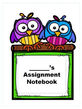 Student Assignment Notebooks