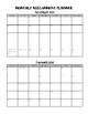 Student Assignment Planner - Monthly