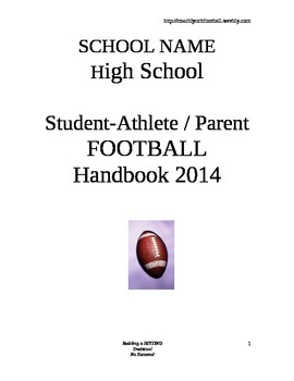 Student-Athlete & Parent Handbook
