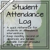 Student Attendance Log