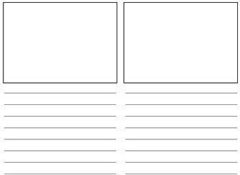 Student Author Book Page Template
