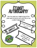 Student Autobiography