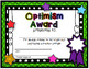 Student Award Certificates #2