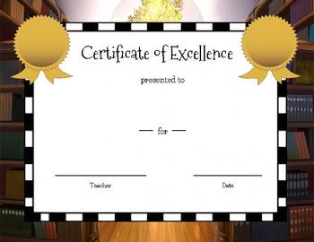 Student Award Certificates - EDITABLE!