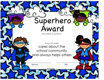 Student Award Certificates- Variety, Colorful, over 40 certificates!