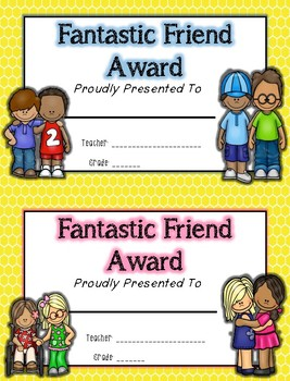Student Awards- All Year Long!