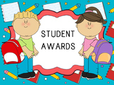 Student Awards / Certificates