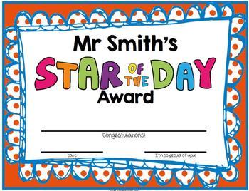 Awards {Student Awards}