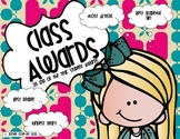 Student Awards: End of Year Classroom Certificates