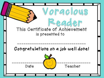 Student Awards {End of the Year}