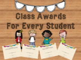 Student Awards (End of the year, middle of the year, any time!)
