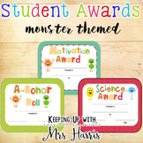 Student Awards - Monsters