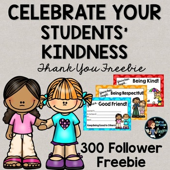 Student Kindness Awards Free
