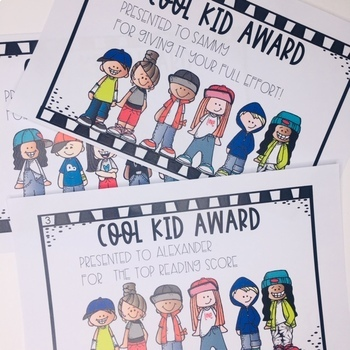 Student Awards- The Cool Kids Award