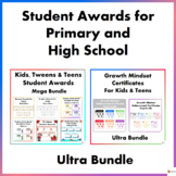 Student Awards for Primary and High School Students Ultra Bundle