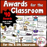 Awards and Certificates for School