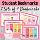 Student Back to School Bookmark Bundle