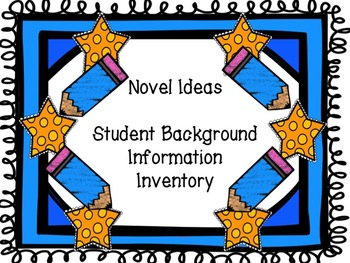 Student Background Information Inventory