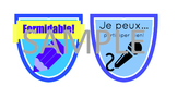 Student Badges - French