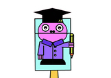 Student Bag Hand Puppet (Occupations)