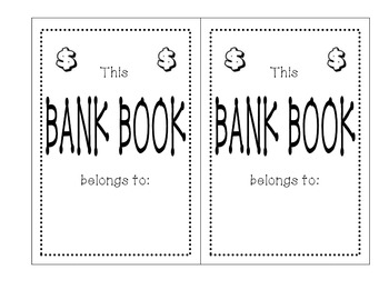 Student Bank Book-Manage Classroom Jobs