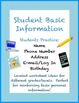 Student Basic Demographic Information Practice