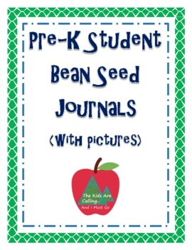 Student Bean Seed Journal (with pictures)