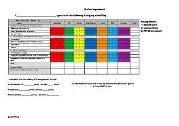 Student Behavior Agreement
