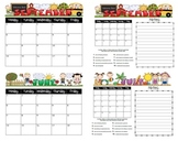 Student Behavior Calendars August 2012 - July 2013