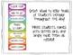 Student Behavior Chart {Clip system- chevron}