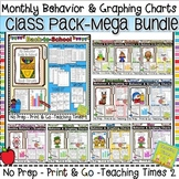 Student Behavior Charts and Graphing Data Tracking- MEGA BUNDLE