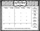 Student Behavior Clip Chart Calendar
