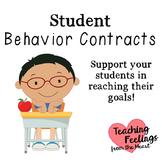 Student Behavior Contracts