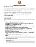 Student Behavior Letter to Parents