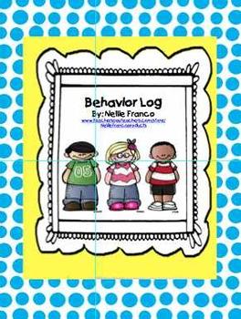Student Behavior Logs