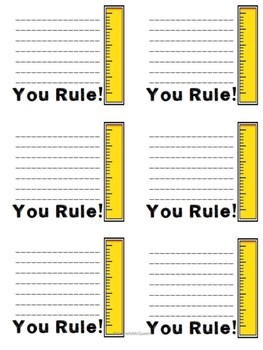 Student Behavior Notes