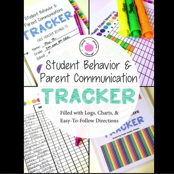 Student Behavior & Parent Communications Binder