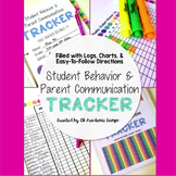 Student Behavior & Parent Communications Binder