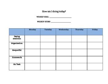 Student Behavior Plan