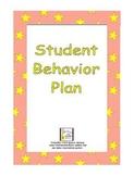 Student Behavior Plan (Behavior Management Packet)