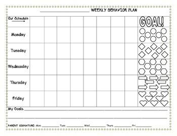 Student Behavior Plan (Daily)