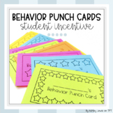 Student Behavior Punch Cards